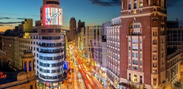 Hotel 4 * 160 rooms in the center of Madrid (Spain)