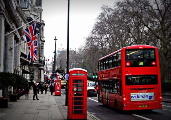 Request for hotels in London