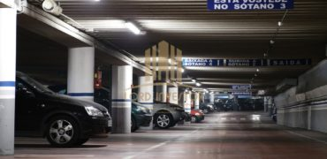 PARKING IN THE CITY CENTER OF SEVILLA