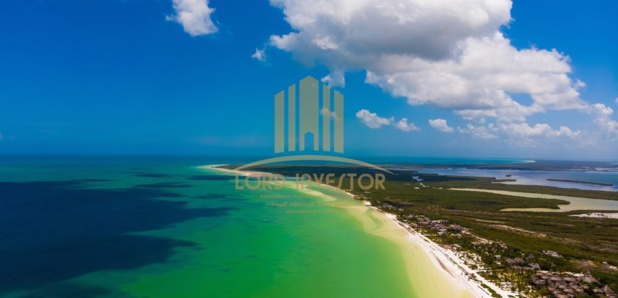 Hotel Plot for Sale Located in Isla Blanca Quintana Roo