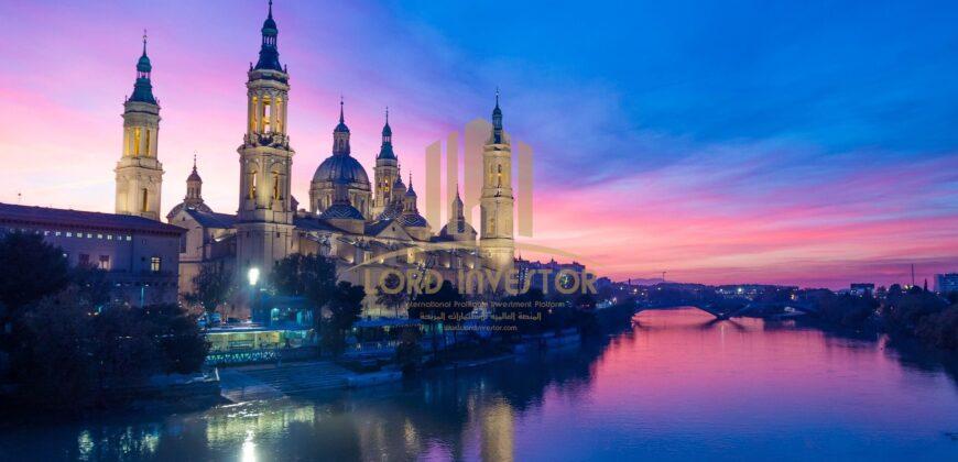Complete building multiple uses in Zaragoza